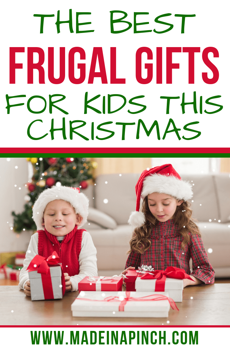 10 Awesome Frugal Christmas Gift Ideas for Kids - Made In A Pinch