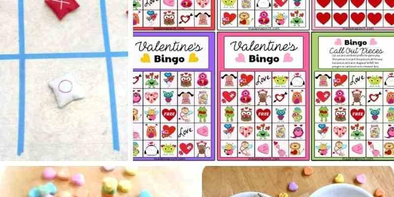 Valentine's Bingo & 5 More Activities Kids Love!