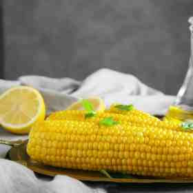 prepared corn on the cob. Get his tip and so many more on Made in a Pinch. Follow us on Pinterest for even more!