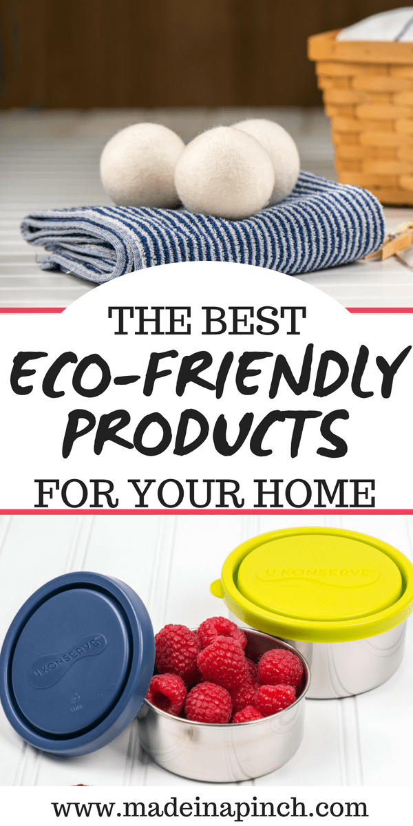 We want to help you save big on eco friendly products! Go green with our tips at Made in a Pinch. For more great tips and recipes, follow us on Pinterest!4
