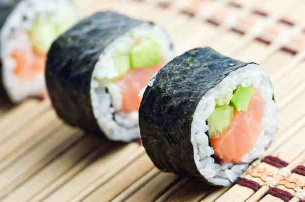 A sushi roller makes a great affordable kitchen gadget gift for friends and loved ones. Get more ideas at Made in a Pinch and follow us on Pinterest.