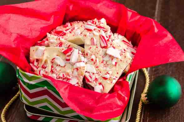 Holiday bark is a snap with our easy peppermint bark recipe