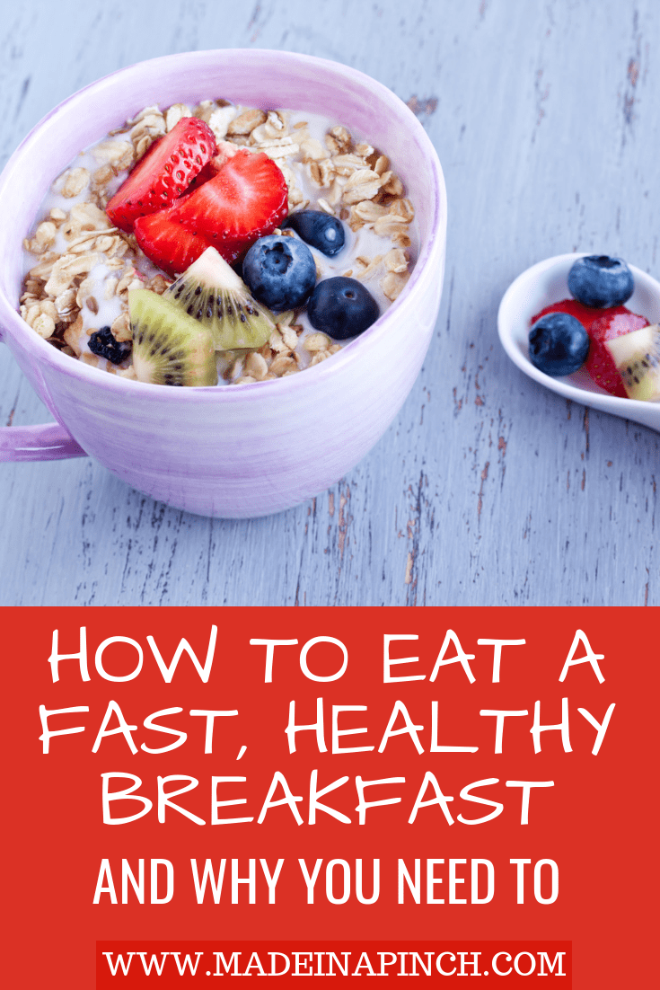 Find out how to pick a healthy cereal for kids and why a healthy breakfast is important at Made in a Pinch. For more helpful tips and easy recipes, follow us on Pinterest