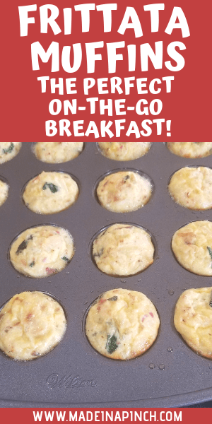These hearty, delicious mini frittatas make a perfect healthy, fast breakfast! Grab the recipe on Made in a Pinch and follow us on Pinterest for more helpful tips and easy recipes.