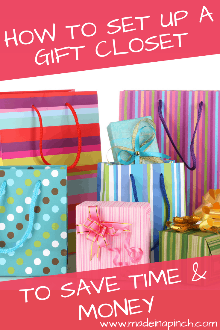 Maintaining a well-stocked gift closet in your home allows you to shop anytime you need to for a perfect idea while staying under budget! Follow us on Pinterest for more helpful tips and yummy family recipes!