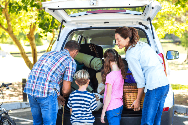 Forget stressing for a road trip! Our road trip packing list has you completely covered for stress-free packing and off on an amazing family vacation! For more helpful tips and easy recipes, follow us on Pinterest!