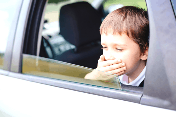 Effectively relieve car sickness symptoms with these tips
