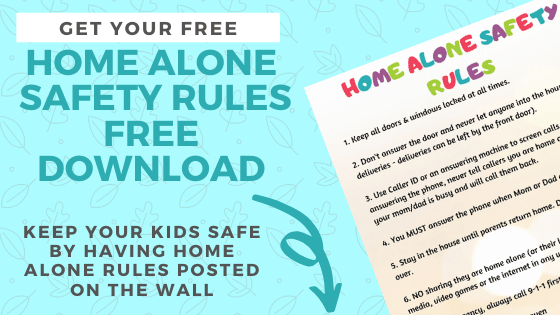 stay home alone rules free download email sign up banner