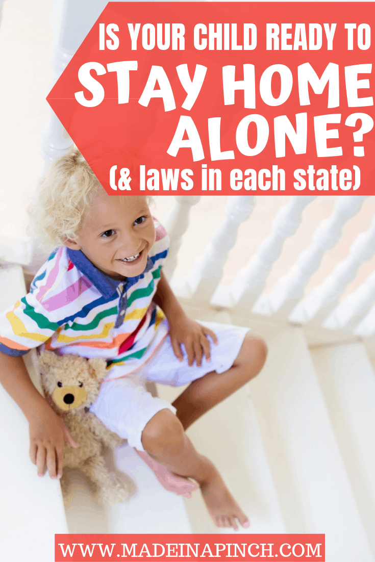 What Is The Age Kids Can Stay Home Alone Guidelines
