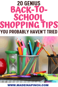 Brilliant back-to-school shopping tips that will help you save on all your back to school shopping needs