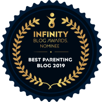Infinity Best Parenting Blog Nominee Award