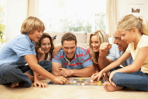 A list of the best family board games to help you choose what to play on your next family game night!