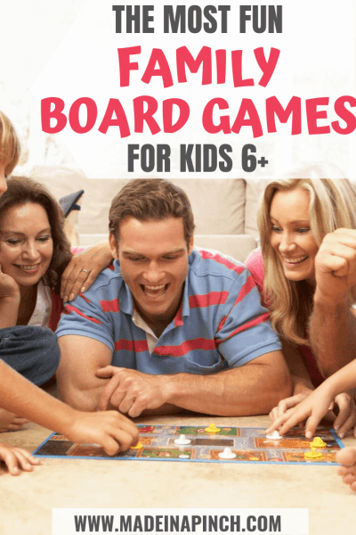 The highest rated family board games list to help you choose what to play on your next family game night!