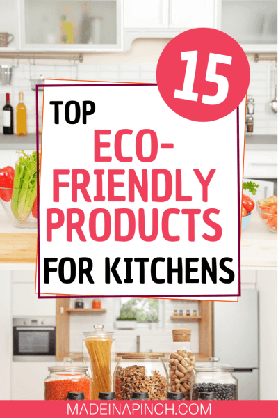 Eco-friendly gift ideas for yourself or someone in your life Pinterest Pin