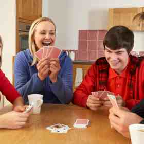 Check out these fun and easy card games to play as a family during family game nights!