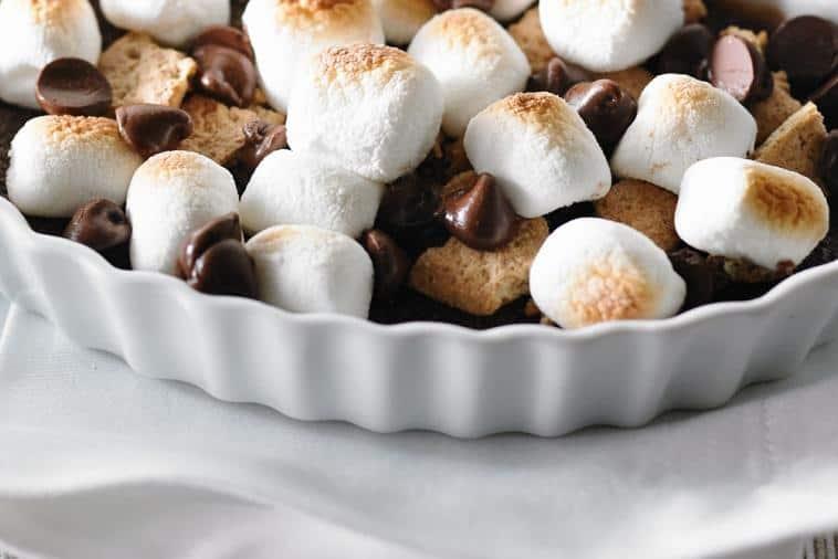 s'mores dessert variation: s'mores creme brulee