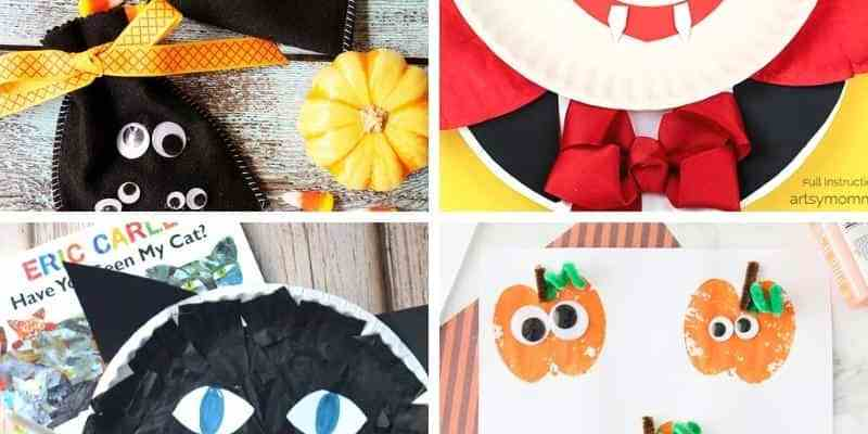 25+ Halloween Arts and Crafts for Preschoolers