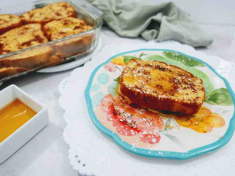 Pumpkin French Toast makes a delicious fall-inspired breakfast!