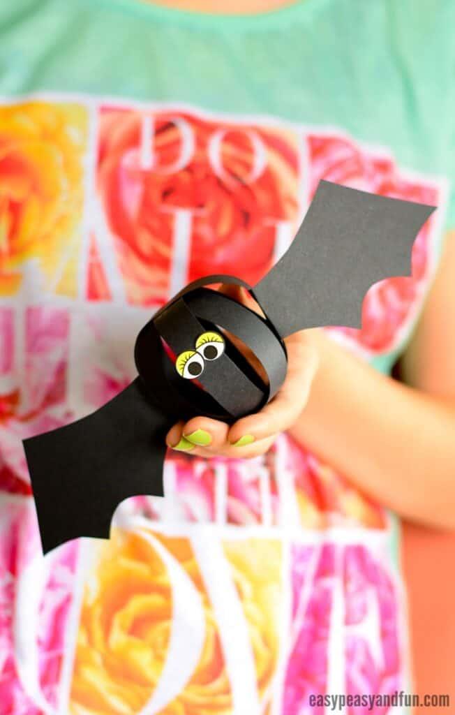 paper ball bat crafts