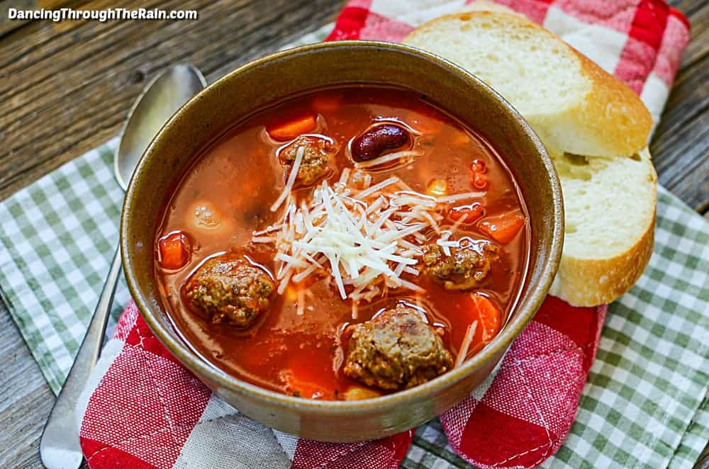 crock pot meatball soup
