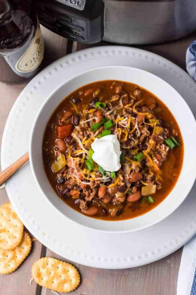 crock pot Irish chili