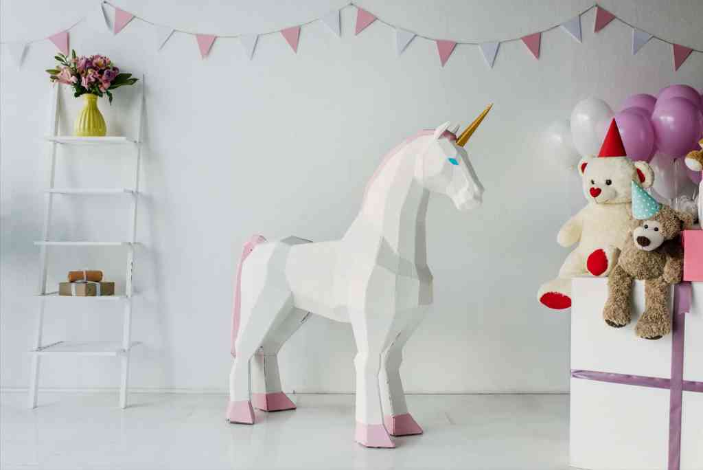 this giant unicorn is just one of many unicorn toys for girls
