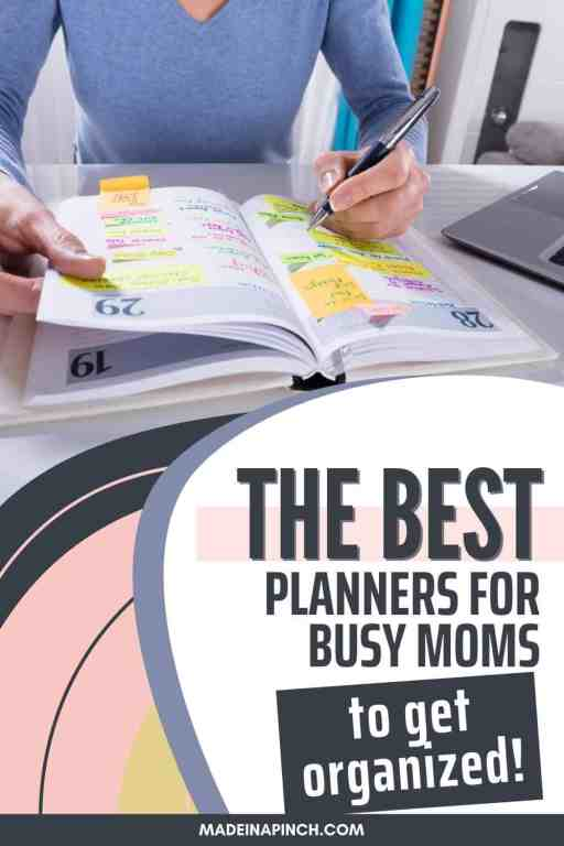 best planners for moms pin image