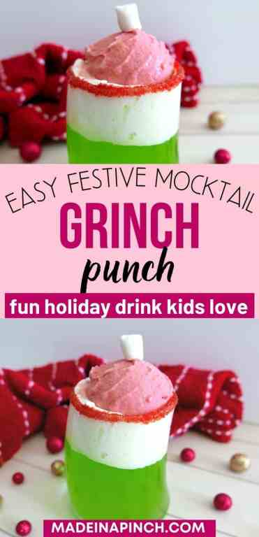 grinch punch long pin image