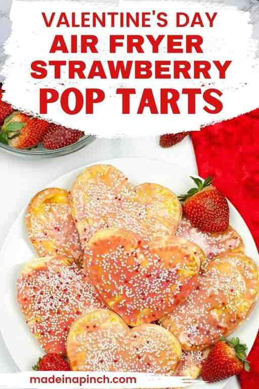 homemade strawberry pop tarts pin