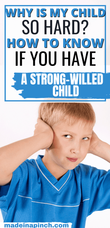 how to know if you have a strong-willed child long pin image