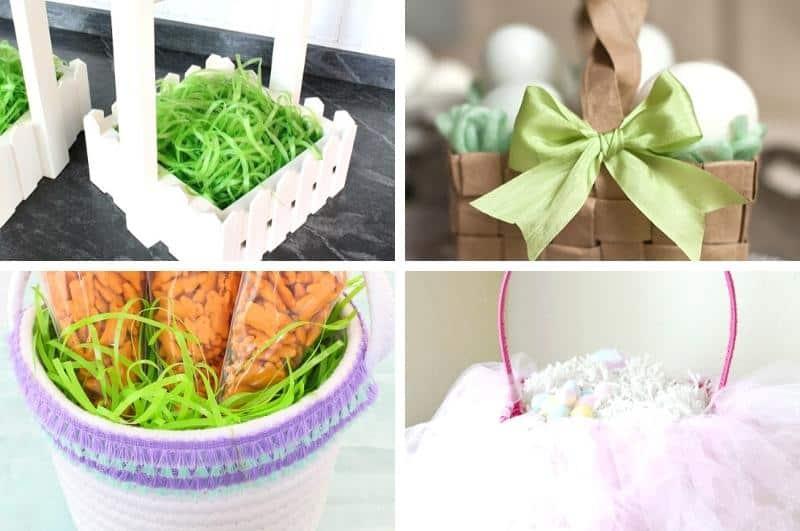 DIY Easter baskets collage1