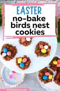 no bake birds nest cookies