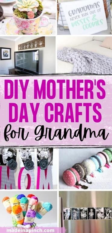 DIY Mother's Day crafts for Grandma