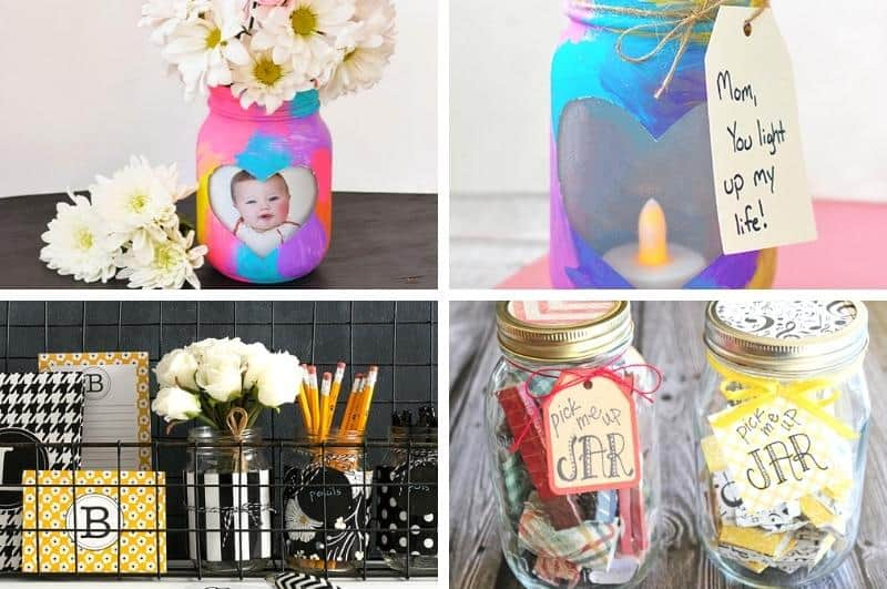 easy DIY Mother's day gift ideas collage