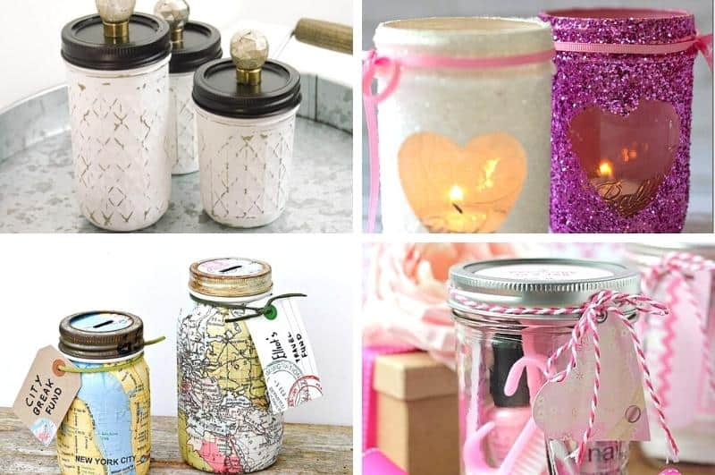 collage of easy DIY Mother's Day gifts