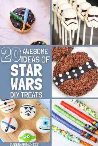 Star Wars treats pin image