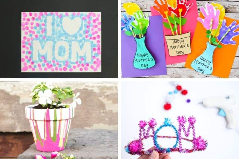 mother's day craft ideas collage1