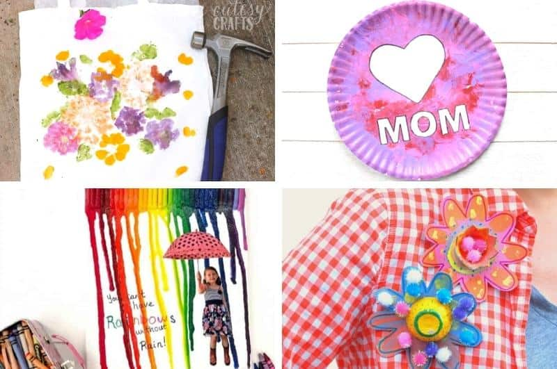 mother's day craft ideas collage3