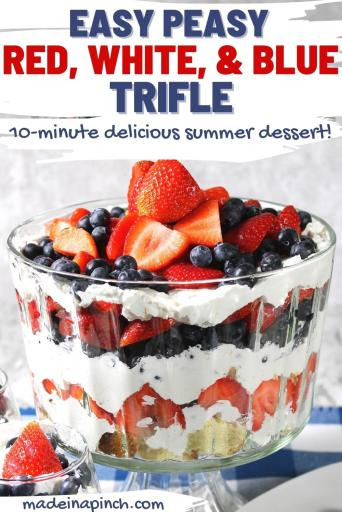 Patriotic summer trifle pin image