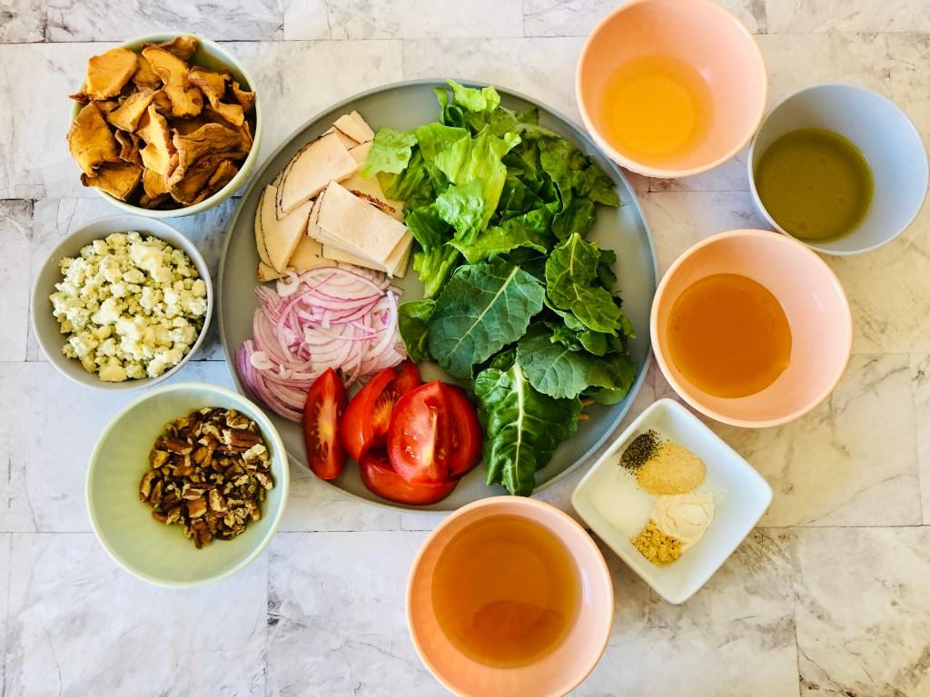 Copycat Panera Fuji Apple Salad ingredients