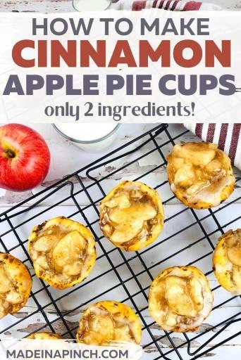 apple pie bites pin image