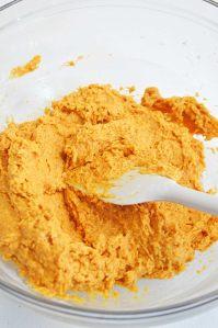 pumpkin cobbler process