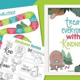 Kindness challenge packet image