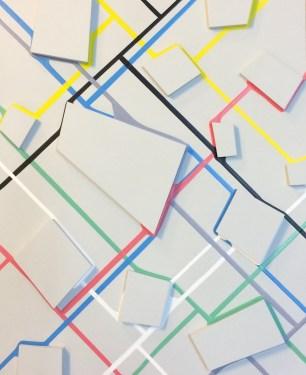 Cross Roads, Acrylic on Board, 46.5 x 38 x 2.5 cm, £800