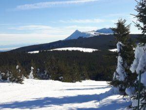 Vue de la montagne à Mezenc