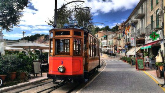 Train Puerto de Soller à Majorque