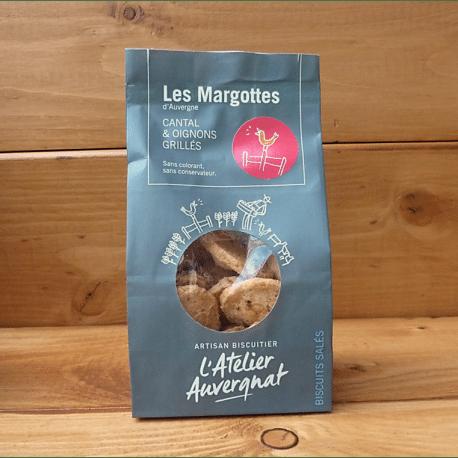 Margottes cantal et oignons grillés - L'Atelier Auvergnat