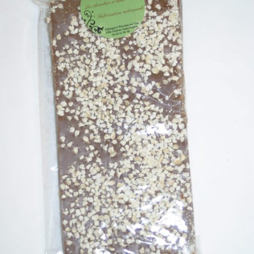 Tablette de Chocolat au lait et aux amandes