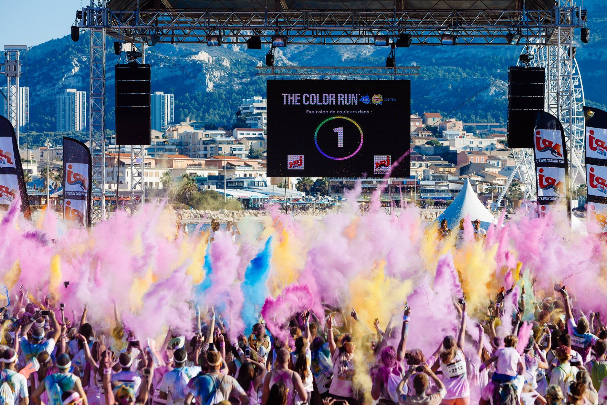 Reportage Les Meilleures Photos De The Color Run By