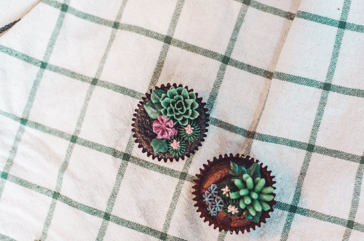Urban Backyard Cupcakes
